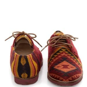 Steve Madden Jazie Textile Boho Aztec Shoes Size 7